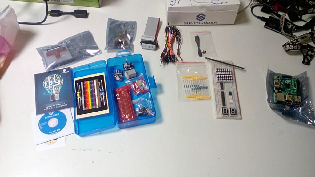 Raspberry Pi mit Bastel-Kit