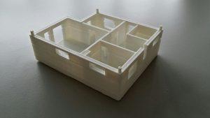 Eine Hausetage aus dem 3D-Drucker