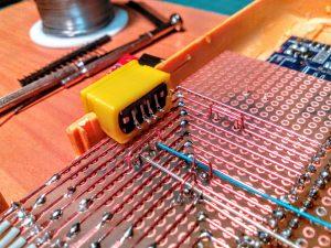 RetroPi USB-Stecker in Flex-Filament-Hülle
