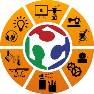 Logo des Makerspace Erfurt